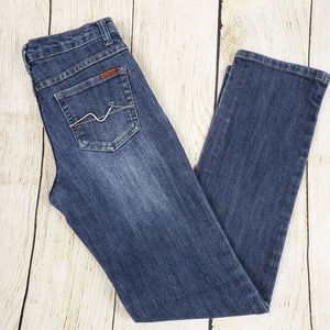 NEW ARRIVAL!  7FAM Straight Leg Low Rise Jeans